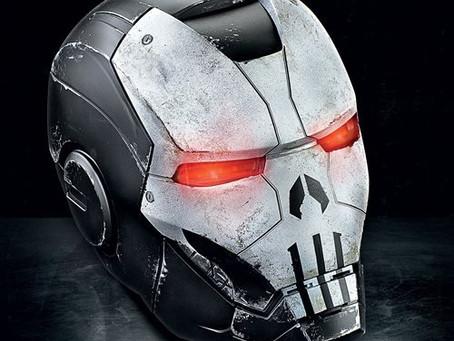 Marvel Legends Gamerverse Punisher War Machine Helmet Prop Replica - Exclusive