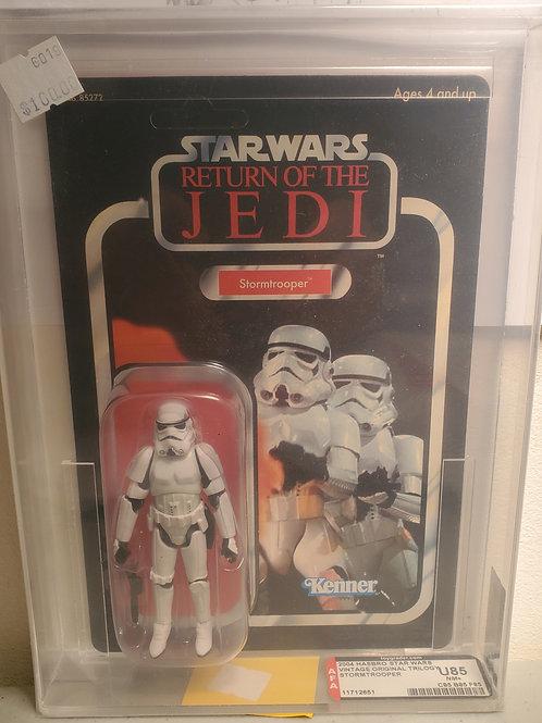2004 Star Wars Vintage Original Trilogy Stormtrooper  U85NM+ Afa Graded