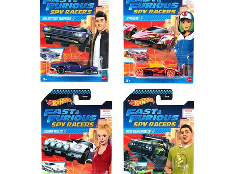 Fast & Furious Spy Racers Hot Wheels Mix 1 2020 Vehicle Case