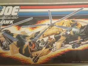 Hasbro GI JOE Tomahawk Complete AFA 70 (QEX+)