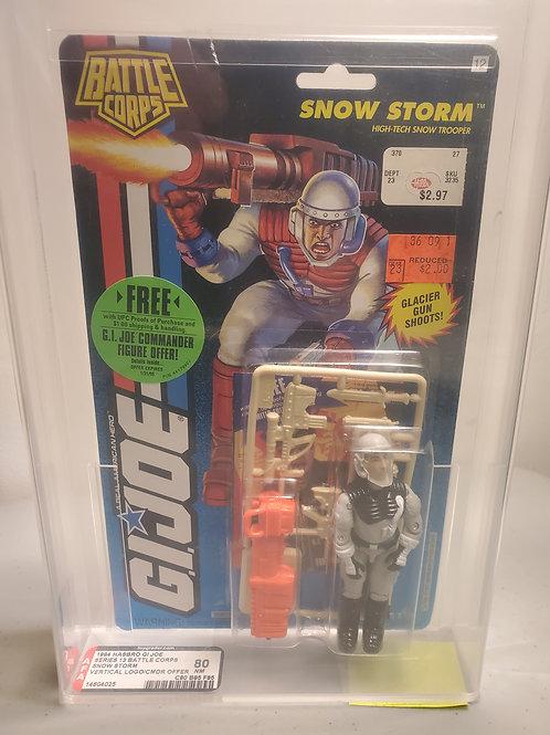 1994 G.I Joe Series 13 Snow Storm 80+NM AFA Graded