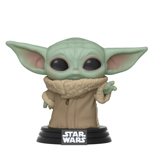 Star Wars: The Mandalorian The Child Pop! Vinyl Figure: The Force is strong with this youngling.  Adorable 3 3/4-inch tall Pop! Vinyl figure brings you The Child!  Inspired by the Disney+ Star Wars: The Mandalorian TV series.