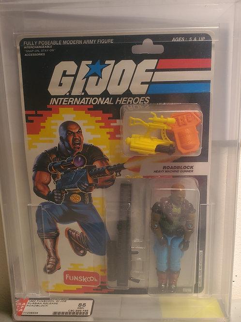 1992 Gi Joe Funskool RoadBlock 85NM+ Afa graded