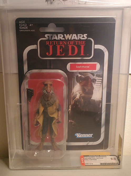 2018 Star Wars Vintage Collection VC128 Saelt Marae(Yackface) AFA Graded9.0