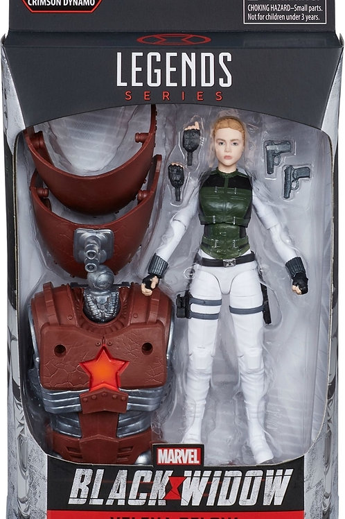 "Marvel Legends Black Widow Yelena Belova ""Crimson Dynamo BAF"
