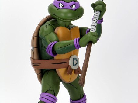 Teenage Mutant Ninja Turtles (Cartoon)1/4 Scale Action Figure – Giant-Size Donatello