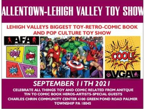 New Vendor Announcement For Allentown/Lehigh Valley Toy Show