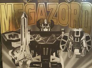 MIB Sealed Power Rangers Black and Gold Edition Megazord