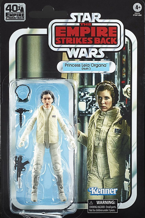 "Star Wars 6"" Black Series Empire Stikes Back 40th Anniversary Princess Leia"