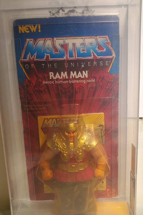 1984 Masters Of The Universe Ram Man Unpunched AFA Graded