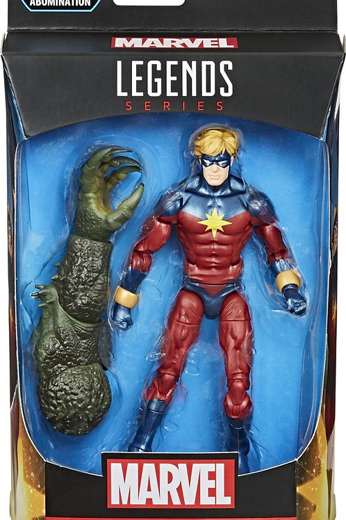 "Marvel Legends Avengers  Gameverse Mar-Vell with Abomination ""BAF"""