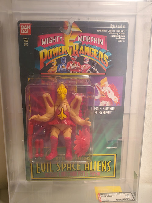 1995 Bandai Power Rangers Auto Morphin Action Feature Aliens