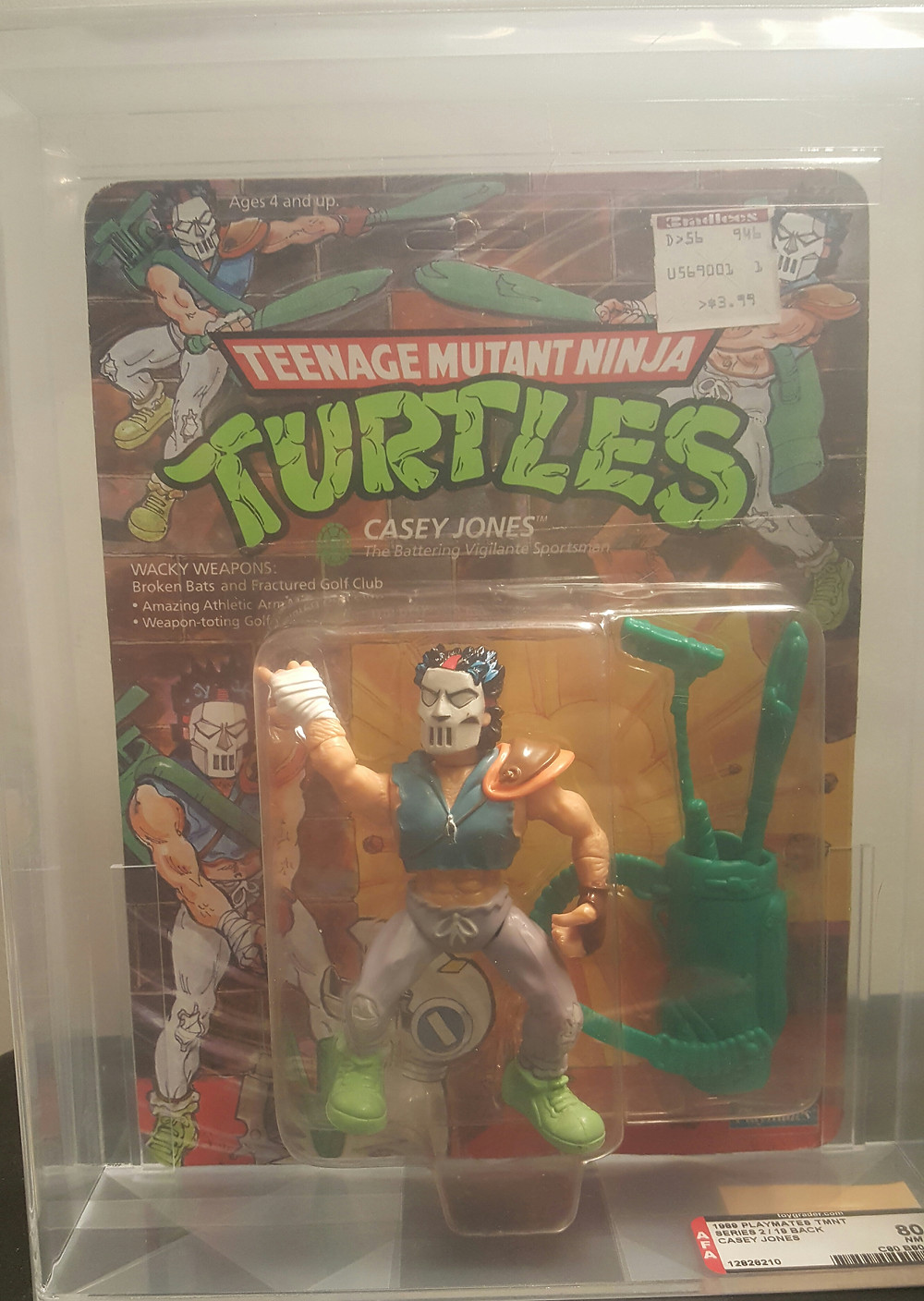 Mint-Soft heads-TMNT Variations-AFA Graded http://www.valleygoto.com