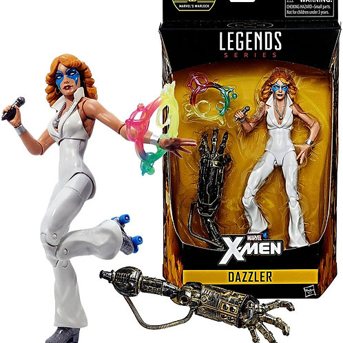 "Marvel Legends 2016 Warlock ""BAF"" 6 Inch Tall Figure - X-Men DAZZLER"