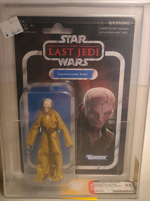 2018 Star Wars Vintage Collection VC121 Supreme Leader Snoke 8.5 AFA Gra