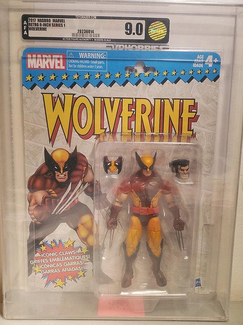 2017 Marvel Vintage Legends Series Wolverine AFA Graded 9.0