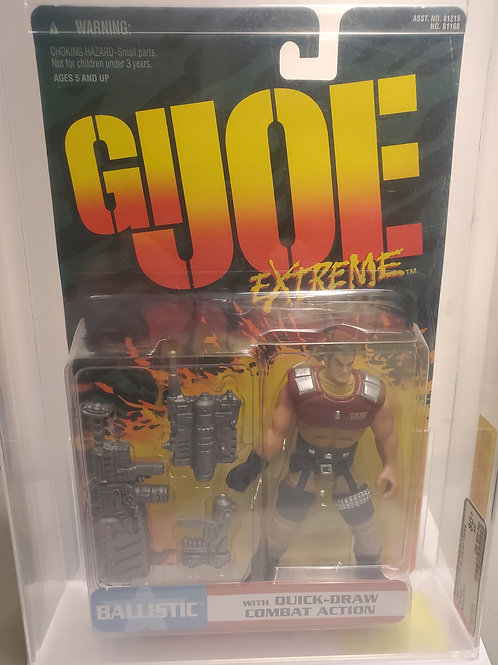 1995 Kenner GI Joe Extreme Series 1 Ballistic 80+NM Afa Graded