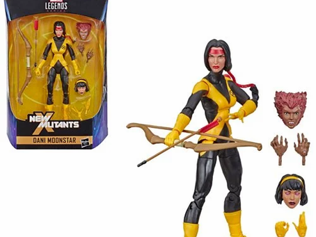 X-Men Marvel Legends New Mutants Dani Moonstar 6-Inch Action Figure - Exclusive