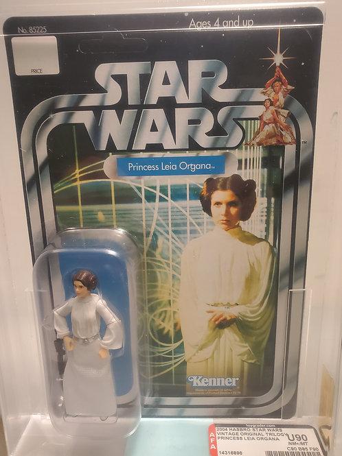 2004 Star Wars Original Trilogy Collection Princess Leia U90NM+MT AFA Graded