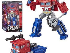 Transformers Generations War for Cybertron: Siege Voyager Optimus Prime