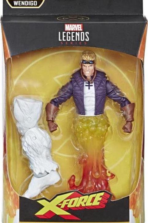 """Marvel Legends X-Force Cannonball """"Wendigo BAF"""" Action Figure"""