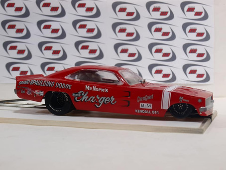 1/24th scale Custom Drag Cars Allentown Slot Car Show