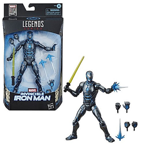 Marvel Legends Stealth Suit Invincible Iron Man 6-Inch Action Figure - Exclusive