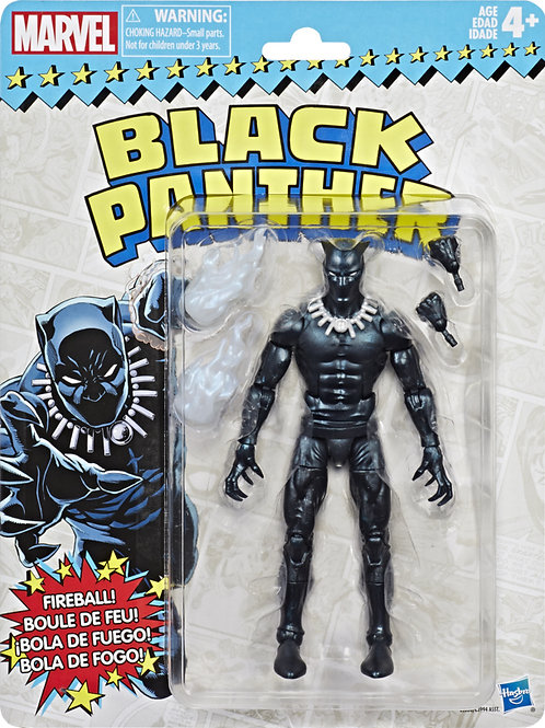 Marvel Legends Vintage Wave 2 Black Panther Action Figure