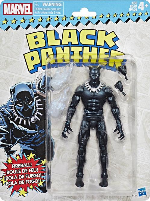 Marvel Legends Vintage Wave 2 Black Panther Action Figure