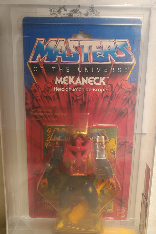 1984 Masters Of The Universe Mekaneck AFA Graded 80NM