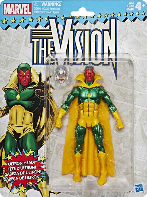 Marvel Legends Vintage Wave 2 Vision Action Figure