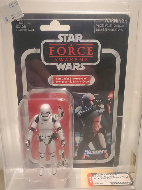 2018 Star Wars Vintage Collection VC118 First Order Stormtrooper 9.0 AFA