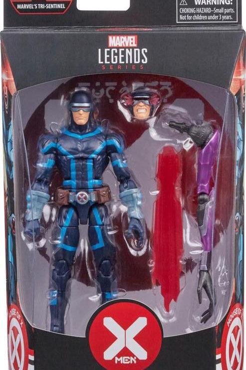 Marvel legends X-Men: Cyclops House of X BAF series Tri Sentinel