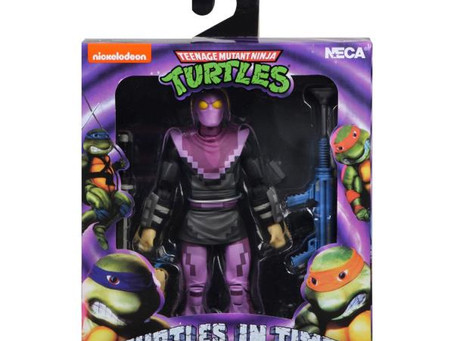Teenage Mutant Ninja Turtles: Turtles in Time -NECA