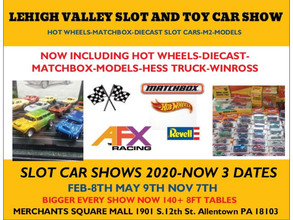 Allentown Slot and Toy Car Show to Hit 140 tables for November 9th 2019