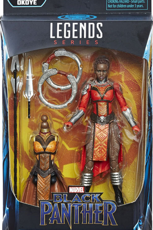 "Marvel Legends Black Panther  Nakia with Okoye ""BAF"""