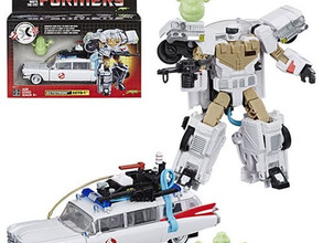 Transformers Generations Ghostbusters Ecto-1 Ectotron