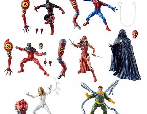 Amazing Spider-Man Marvel Legends Series Action Figures Wave 10 Case