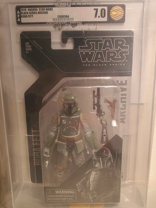 2019 Star Wars Archive Black Series BoBa Fett AFA8.0Graded