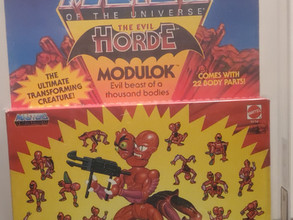 Masters Of the Universe MOTU 1985 Series 4 Modulok Unpunched AFA Graded 80+NM