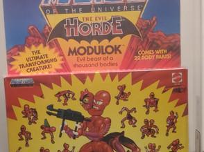 Masters Of the Universe MOTU 1985 Series 4 Modulok Unpunched AFA Graded 80+NM