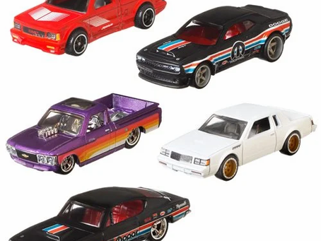 Hot Wheels Car Culture Power Trip Mix 6