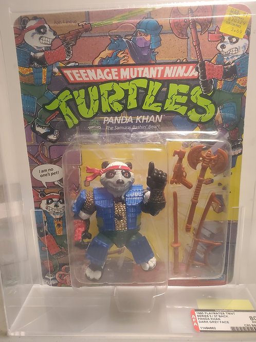 1990 Playmates TMNT Series 3 / 37 Panda Khan Dark Grey Face
