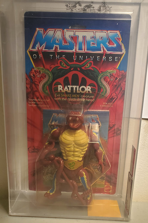 1985 Masters Of The Universe Rattlor  AFA Graded