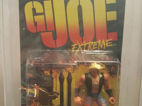 1995 Kenner Gi Joe Extreme Series 1 Metalhead 85NM+