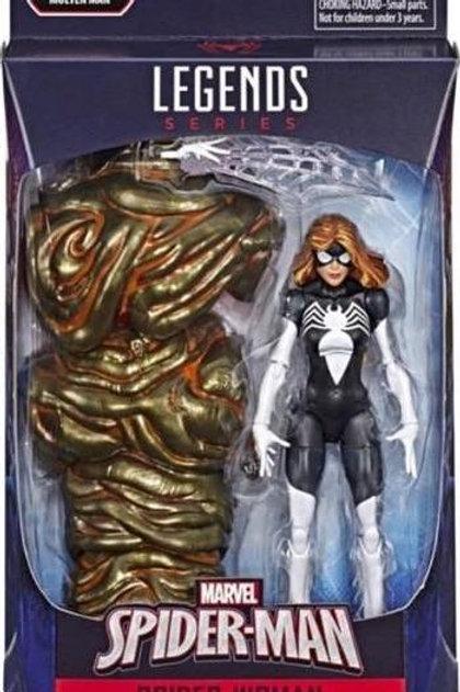 """Marvel Legends Spider Man:  Spider Woman with Molten Man """"BAF"""""""