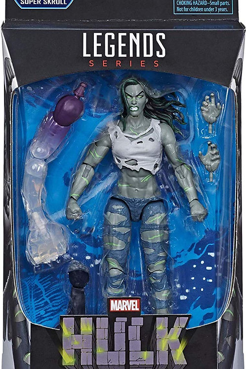 "Fantastic Four Marvel Legends She Hulk  ""Super Skrull ""BAF"