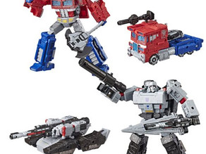Transformers Generations War for Cybertron Siege Voyager Wave 1 Case