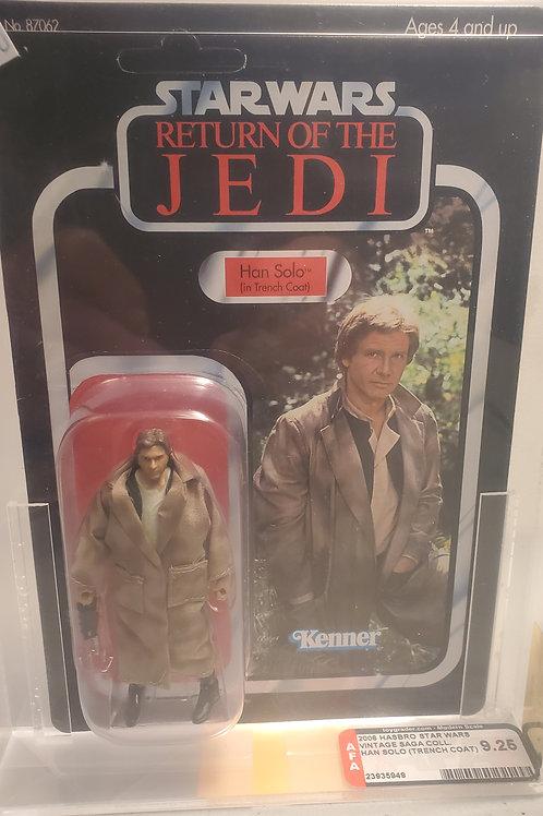 2008 Star Wars Vintage Saga  Han Solo 9.25 AFA Graded