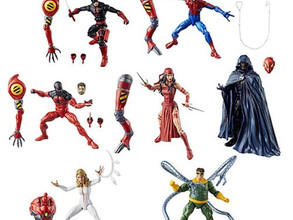 Amazing Spider-Man Marvel Legends Series Action Figures Wave 10 SP.Dr BAF